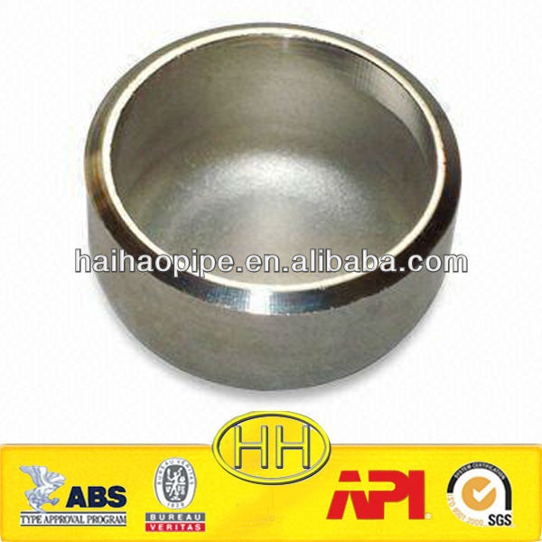 high quality stainless steel pipe end cap made in China