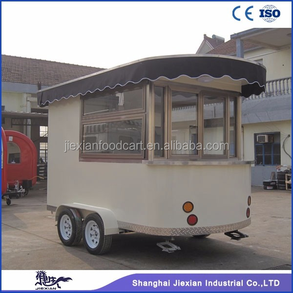 JX-CR320 Shanghai Jiexian concession trailer mobile food cart food cart franchise master siomai house