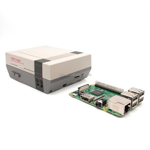 YIKESHU Grey NESPI Case Mini NES Designed For Module Raspberry PI 3, 2 and B+