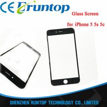 High Quality A+ Front Glass Outer Lens Touch Screen for iPhone 5 5s 5c