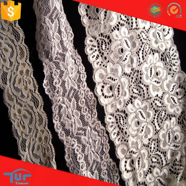 2016 new design fancy pattern fine nylon nigerian lace for winter