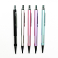 Promotional Bright Chrome Metal Pen Twist Ball Pen With Custom Pen Clip
