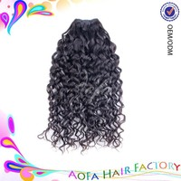 Directly factory Double Weft Wholesale Virgin Wholesale Cheap Remy cheap 100% human hair clip in hair extension
