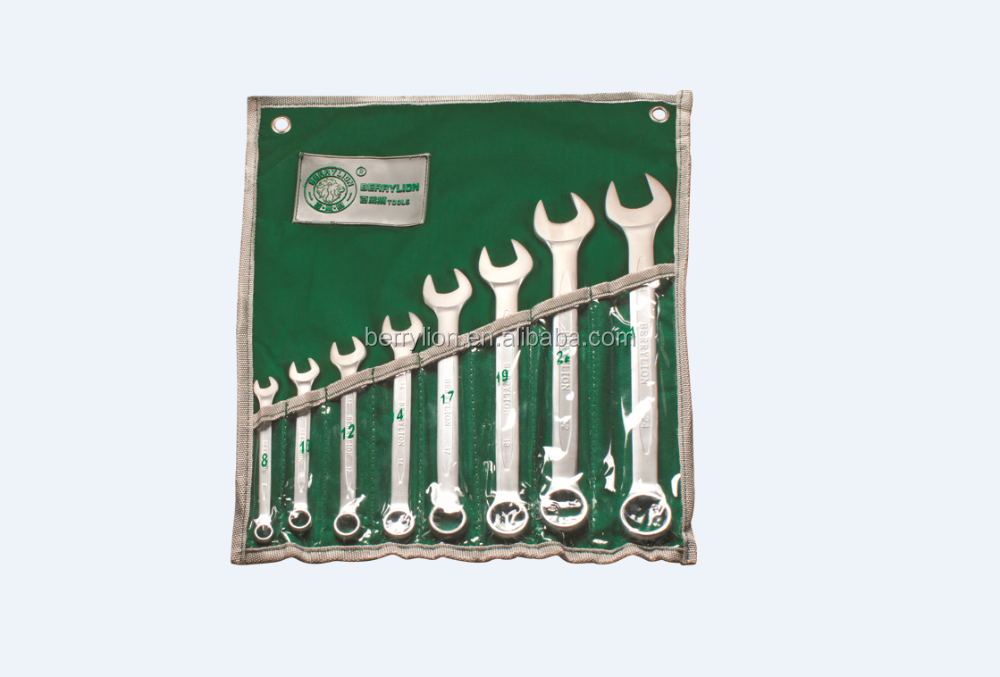 Berrylion Hand Tools Combination Wrench Set
