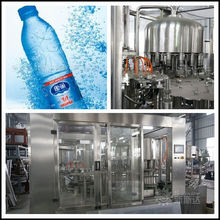 complete Nature spring mineral water filling factory