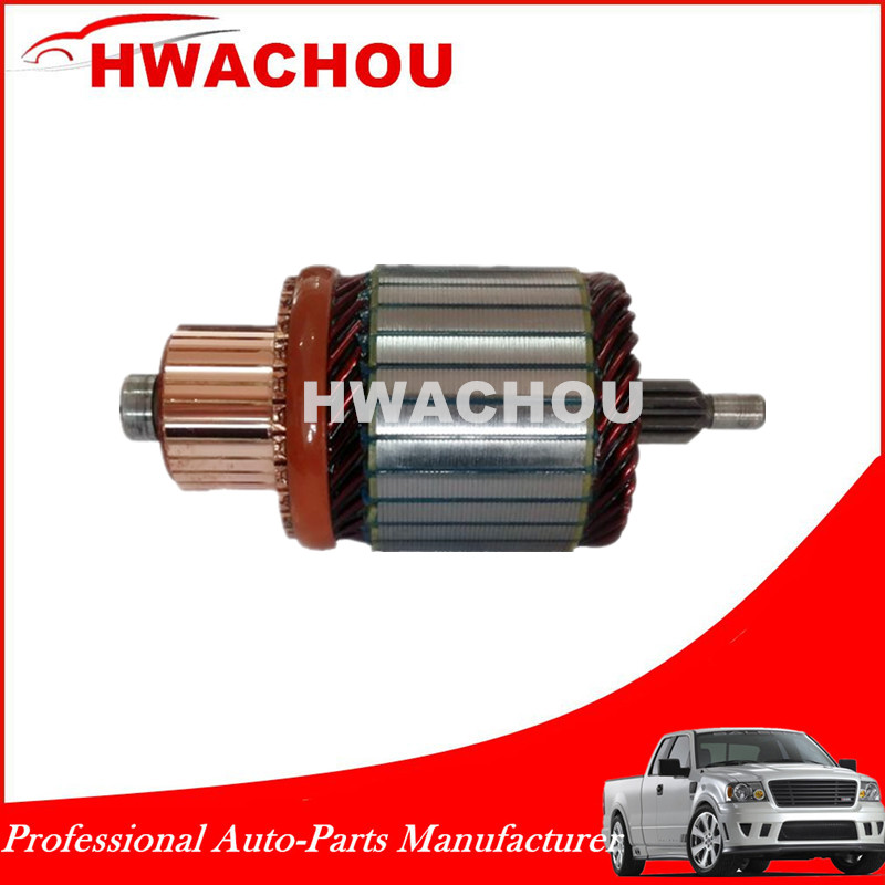 12V auto motor starter armature IM3044, 61-8114 for Hitachi