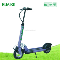 KUAIKE self-owned brand Mini Smart Electric Two Wheels Scooter have T -bar with 36V250W motor