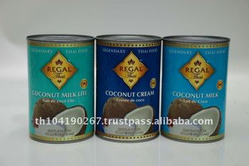 Canned Coconut Cream (400 ml Regal Thai Brand) from Thailand