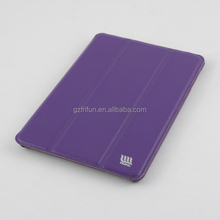 Elegant Purple PU Leather Cases,3 Fold Tablet Covers for Ipad Mini