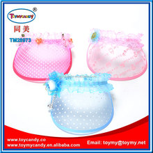 2016 SUMMER POPULAR 18.5X18X6CM CHILDREN CRAFT GIFT HAT TOY WITH LACE