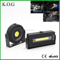 Cordless Hands Free COB Worklight with Magnetic Support Stand