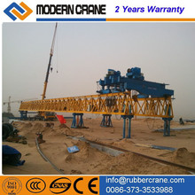 Drawing customized highway or railway bridge girder launcher