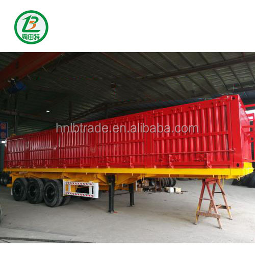 Henan LIBA 3 Axles 60Ton Tipping Dump Tipper Semi Truck Trailer In China for Sale