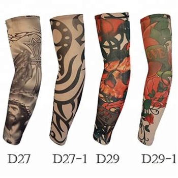 KaPin good quality football cycling golf outdoor sports protective tattoo elastic arm sleeve