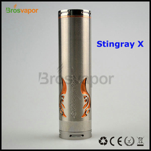 Hot Mechanical Mod Red Copper 26650 Stingray X Mod