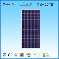 290w poly solar cell, photovoltaic panel,solar power product