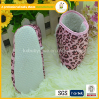 2015 new fashion wholesaler lovely Leopard baby boots kid soft boots
