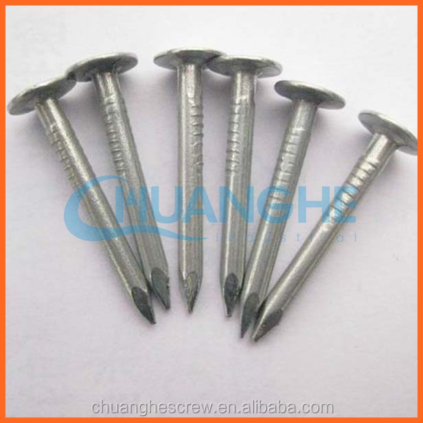 High Quality Low Carbon twill shank flat countersunk head concrete nail