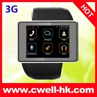 ALPS Z2 MTK6577 Dual Core 3G android smart watch mobile phone