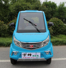 Yufeng 4 wheel electric car, hot selling new design four wheel electric car manufactured in China