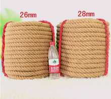 Festival Decor Natural Hemp Rope Twine Twisted Jute rope