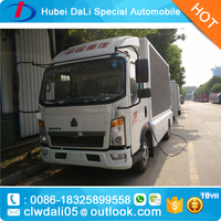 outdoor led mobile truck led advertising truck for sale