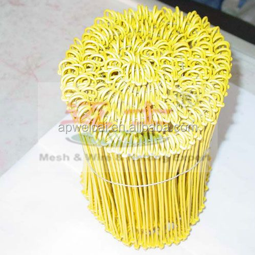 more size 25kg per roll fence wire pvc coated tie wire