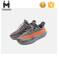 2017 New design flyknit 350 upper OEM fashion sports shoes durable popular young running sneakers for adults