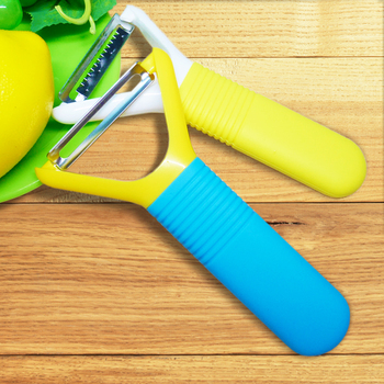 Vegetable as seen on tv with silicone handle pear peeler