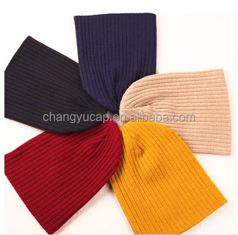 Both men and women Spring, summer, new contracted candy color knitting wool hat thermal couples