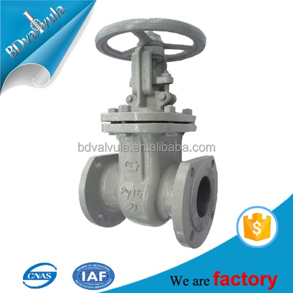 gate valve natural gas pressure regulator valve industrial