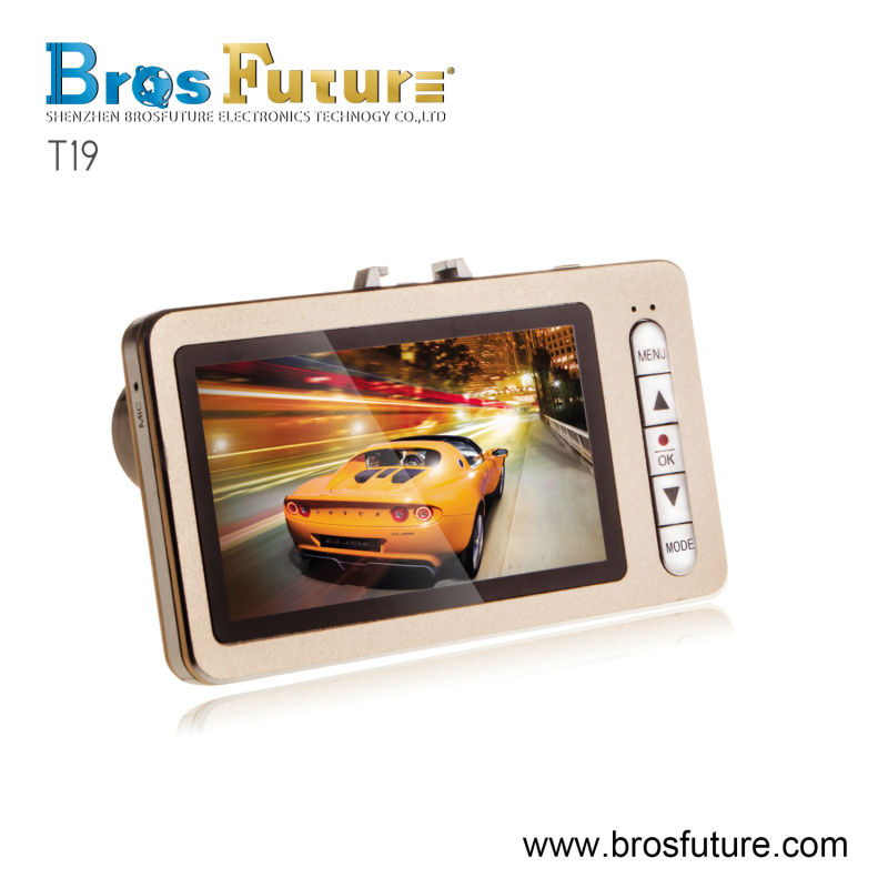 2.7 inch TFT screen car black box,5 mega pixels car dvr,camera for car dash