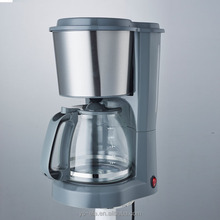 1.5L 10 cup drip coffee maker with stainless steel decoration 900W Power