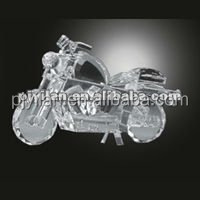 handsome crystal motorcycle model
