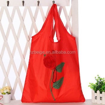 2015 manufacture cheap promotional nylon shopping bag, eco shopping bag