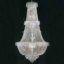 Luxury Hotel Crystal Glass Hanging Lighting Modern Crystal Chandelier 62040