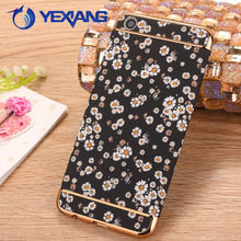 High Quality Electroplating Glow Design Case Cover For Oppo F1s 3 In 1 PC Case