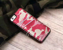 Alibab.com Slim Heavy Duty Combo Armor Camouflage Leather Wallet Case For iphone 6 6 plus