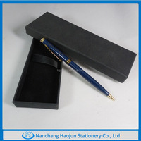 2016Newly Arrival Metal Pen Gift Set Case , Promotional Ball Pen With Boxes