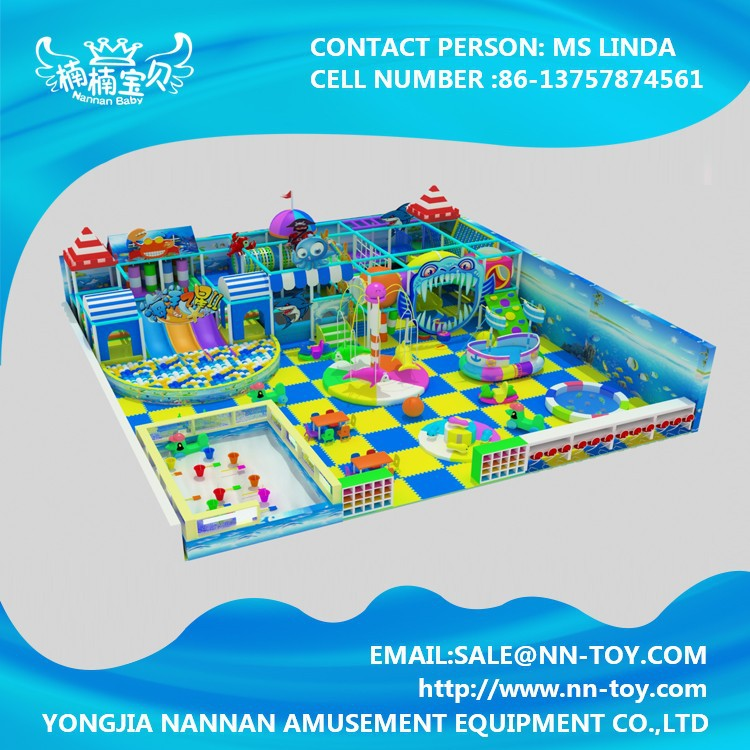 Wenzhou manufacture kids play area indoor soft playground for infant