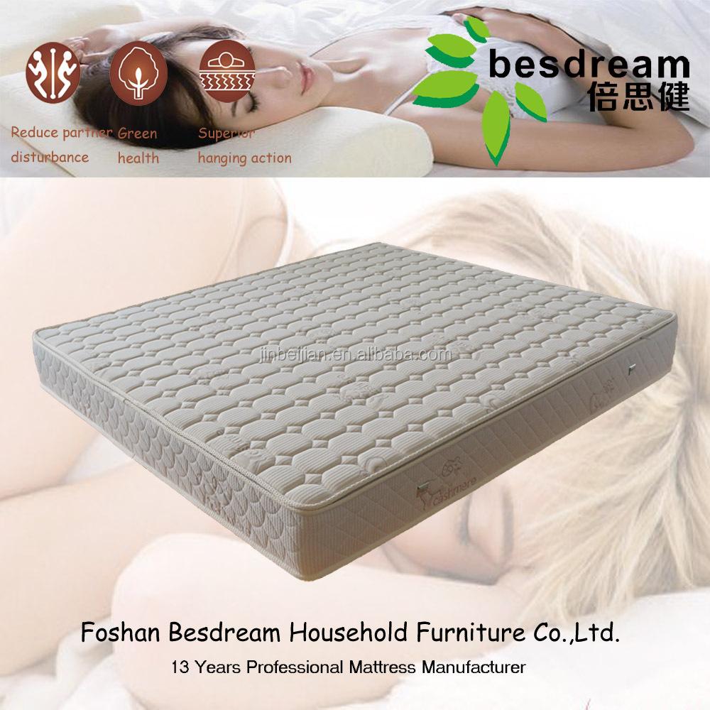 Besdream natural coconut palm sleeping mattress price spring mattress - Jozy Mattress | Jozy.net