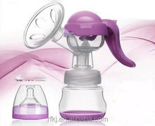 Hot-sale BPA free manual breast pump / high quality breast pump/baby milk breast pump