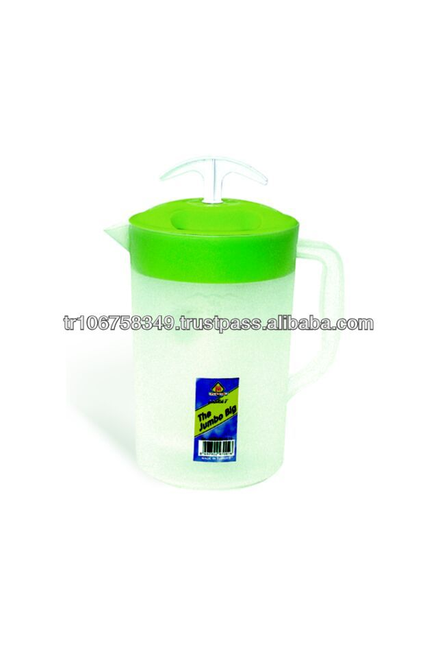 plastic pitcher with churn