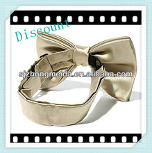 2013new style fashion lady and girl ribbon bow tie/neck tie for girls