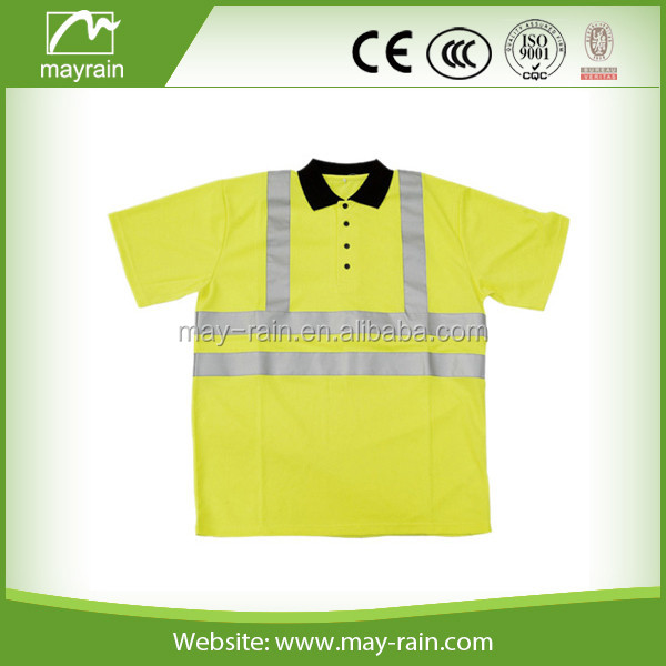 Safety vest,work safety product,yellow reflective safety shirt