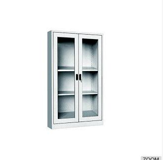Steel Office Glass Door Cabinet