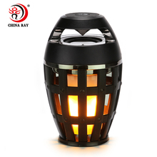 2018 hot sale Portable LED Speaker Mini Wireless receiver Car Audio
