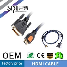 SIPU wholesale 15 pin dvi to hdmi cable 2m