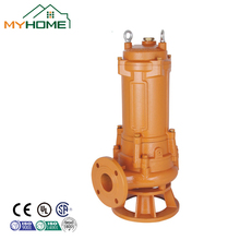 WQ80-10-5.5 farm irrigation 5.5-7.5KW submersible water pump