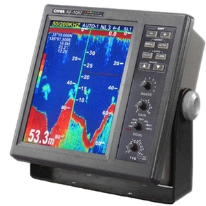 Marine sonar fish finder / Echo sounder High power 1KW and 2KW KF-1067